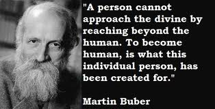 Martin buber and the way of man essay